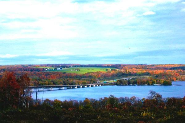 View of Chautauqua Lake