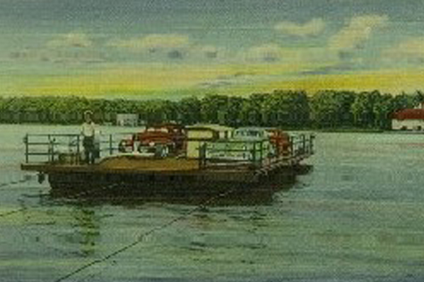 Historical Picture of Stow Ferry